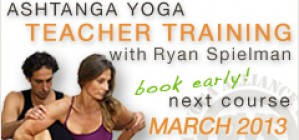 Ashtanga Teacher Training – March 2013