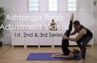 New Ashtanga Adjustment Videos: 1st, 2nd & 3rd series