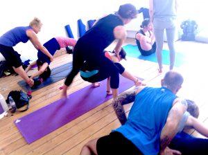 ashtanga yoga adjustments training november 2016